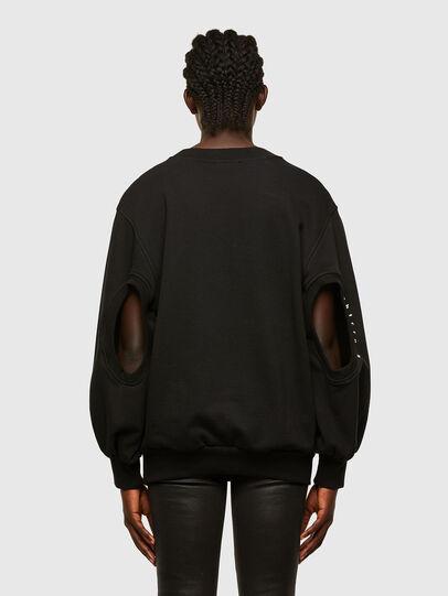 Diesel - F-CIONDY, Black - Sweatshirts - Image 2