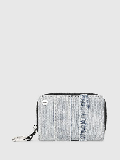 Diesel - BUSINESS II, Blue Jeans - Small Wallets - Image 1