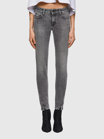 Diesel - D-Jevel Slim Jeans 09A72, Light Grey - Jeans - Image 1