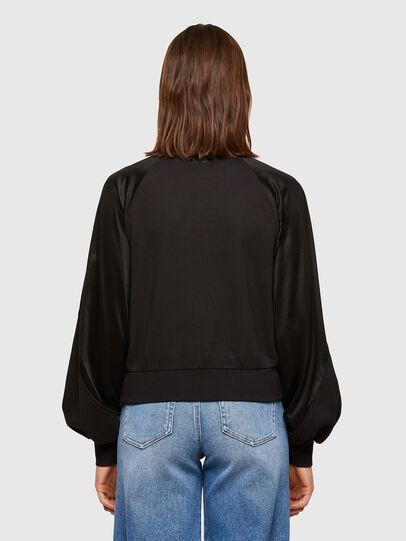 Diesel - F-TULIP, Black - Sweatshirts - Image 2