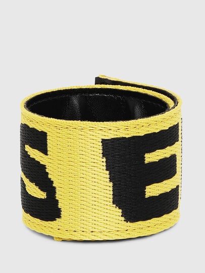 Diesel - A-BAND, Black/Yellow - Bijoux and Gadgets - Image 1
