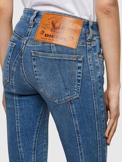 Diesel - Slandy Skinny Jeans 009QS, Light Blue - Jeans - Image 3