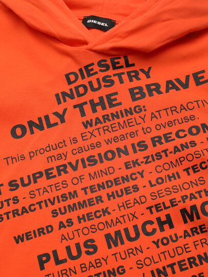 Diesel - TDIEGOHOODS3 ML, Orange - T-shirts and Tops - Image 3