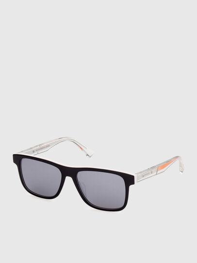 Diesel - DL0279, White/Orange - Sunglasses - Image 2