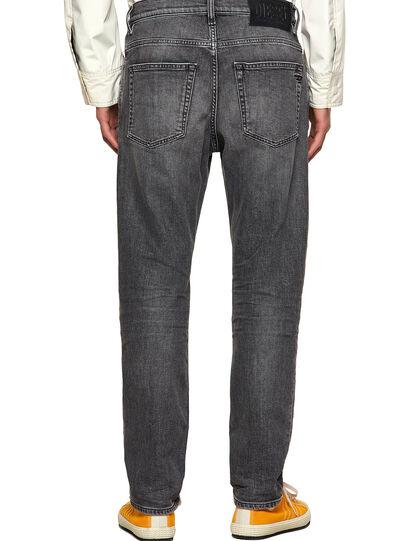 Diesel - D-Fining Tapered Jeans 09A11, Black/Dark Grey - Jeans - Image 2