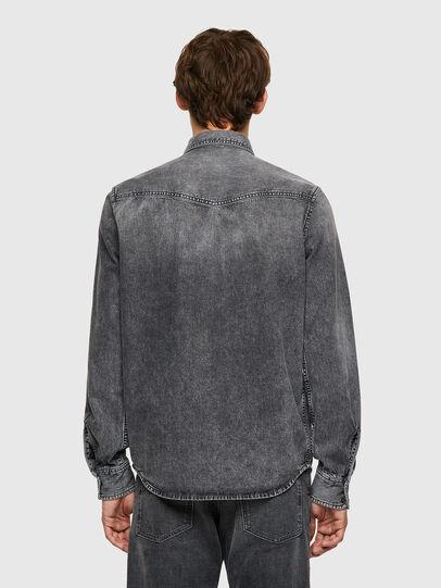 Diesel - D-EAST-P1-SP2, Gris oscuro - Camisas de Denim - Image 2
