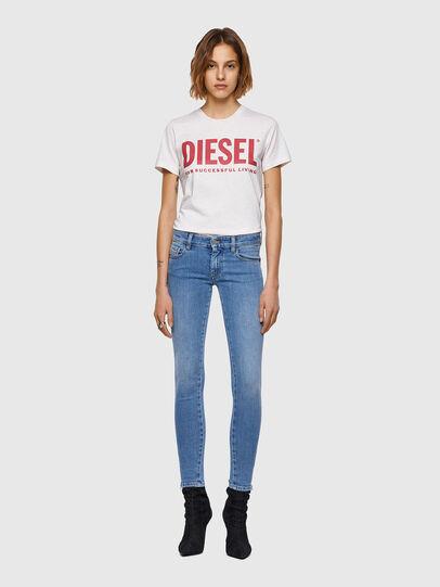 Diesel - Slandy Low Skinny Jeans 009ZY, Light Blue - Jeans - Image 5