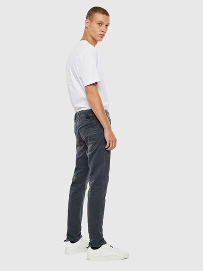 Diesel - Krooley JoggJeans 0670M, Dark Grey - Jeans - Image 4