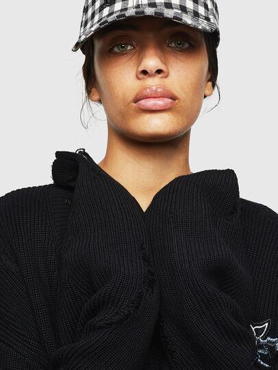 Diesel - M-JENNY, Black - Sweaters - Image 4