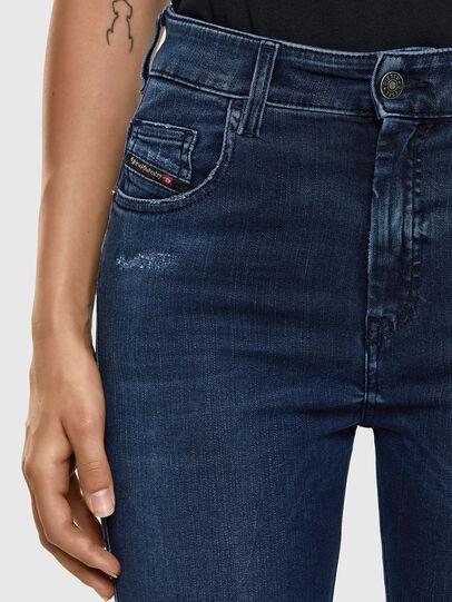 Diesel - Slandy High 009LR, Medium Blue - Jeans - Image 4