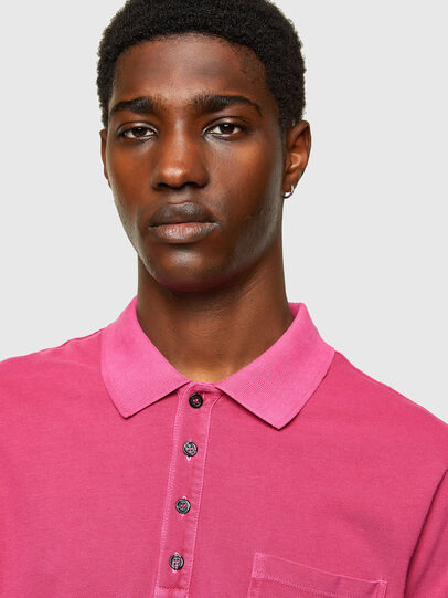 Diesel - T-KAL-2, Hot pink - Polos - Image 3