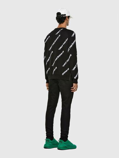 Diesel - K-DAVIS, Black - Sweaters - Image 6