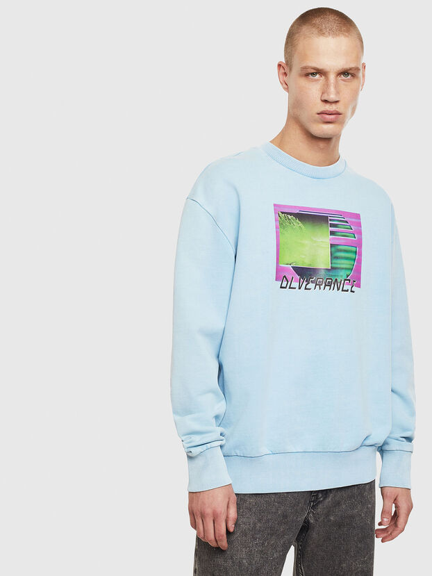S-BIAY-FLUO, Azure - Sweatshirts