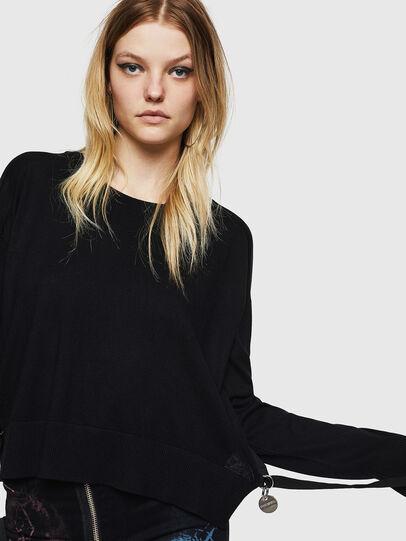 Diesel - M-PERLA, Black - Sweaters - Image 3