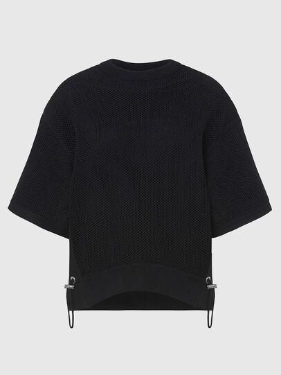 Diesel - M-ROSSI, Black - Sweaters - Image 1