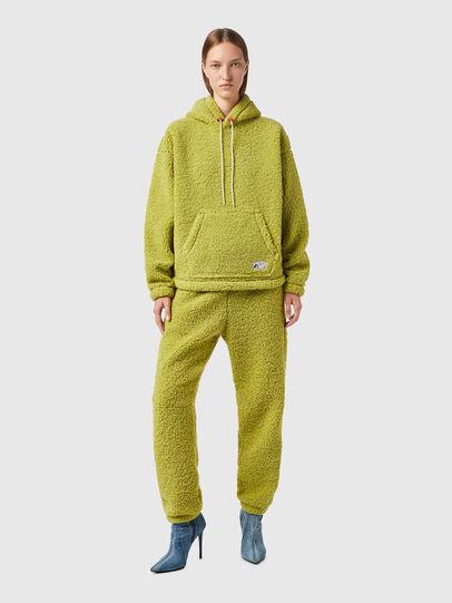 Diesel - S-UMMEREDDY, Yellow - Sweatshirts - Image 8