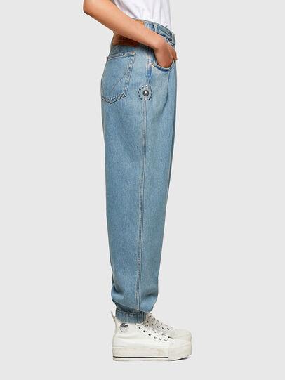Diesel - D-Concias Boyfriend Jeans 009RQ, Light Blue - Jeans - Image 8