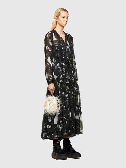 Diesel - D-HINES-A, Black - Dresses - Image 6