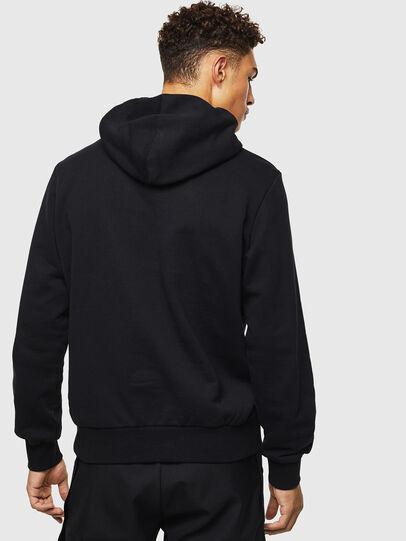 Diesel - S-GIRK-HOOD-J1, Black - Sweatshirts - Image 3