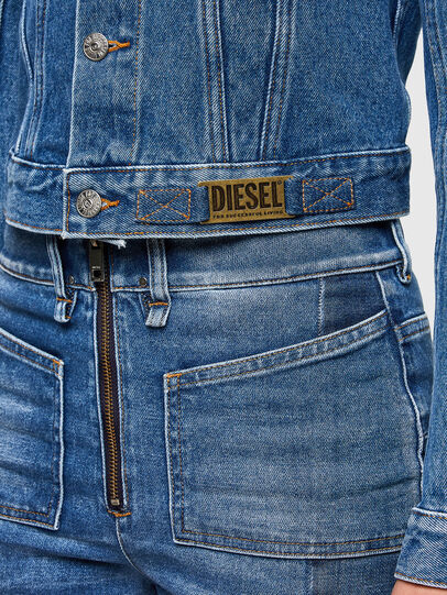 Diesel - DE-LIMMY, Medium Blue - Denim Jackets - Image 4