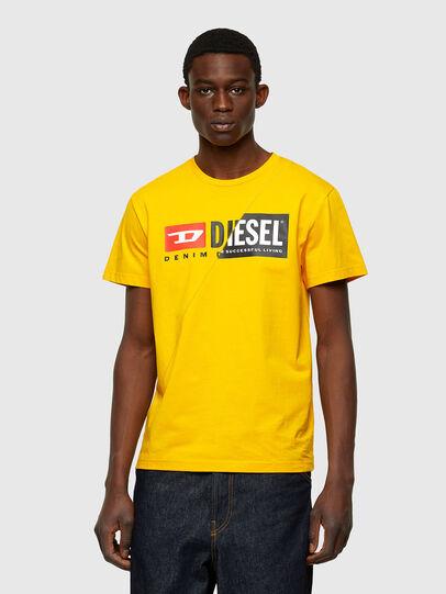 Diesel - T-DIEGO-CUTY, Yellow - T-Shirts - Image 1