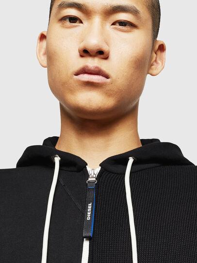 Diesel - K-SAMU, Black - Sweaters - Image 3