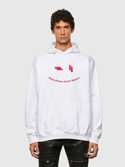 Diesel - S-UMMEREL-N1, White - Sweatshirts - Image 1