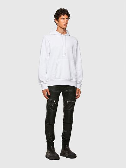 Diesel - S-GIRPO-HOOD, White - Sweatshirts - Image 5