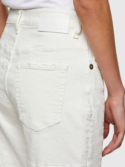 Diesel - D-Reggy Straight Jeans 009UL, White - Jeans - Image 4
