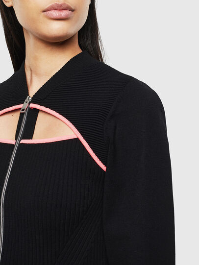 Diesel - M-LANAE, Black - Sweaters - Image 3
