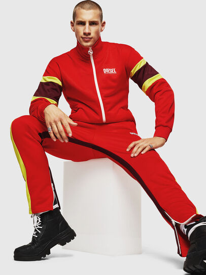 Diesel - P-AKONY, Fire Red - Pants - Image 4