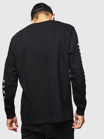 Diesel - T-JUST-LS-J3, Black - T-Shirts - Image 2