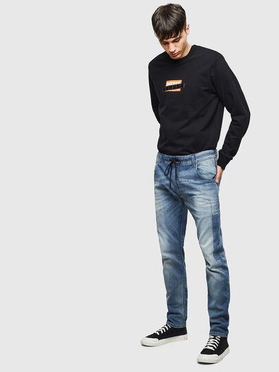 Diesel - Krooley JoggJeans 069JZ, Light Blue - Jeans - Image 6