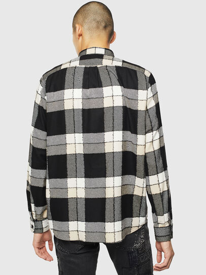 Diesel - S-MILLER-COUPE, Black/White - Shirts - Image 2