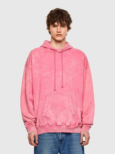 Diesel - S-UMMER-E2, Pink - Sweatshirts - Image 1