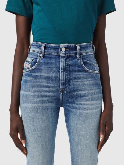 Diesel - Slandy High Skinny Jeans 09B09, Light Blue - Jeans - Image 3