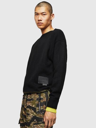 Diesel - K-PILOT, Black - Sweaters - Image 4