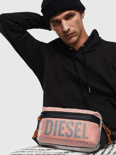Diesel - FAROH, White/Orange - Belt bags - Image 8