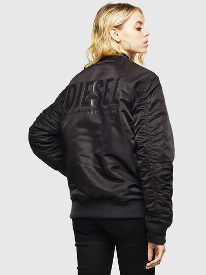 Diesel - J-ROSS-REV, Black - Jackets - Image 4