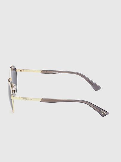 Diesel - DL0355, Black/Gold - Sunglasses - Image 3