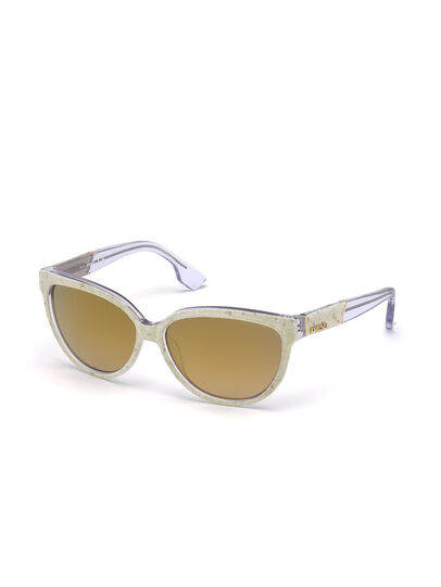 Diesel - DM0139, Gold - Sunglasses - Image 3