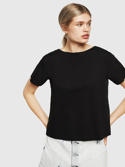 Diesel - T-RYLY, Black - T-Shirts - Image 1