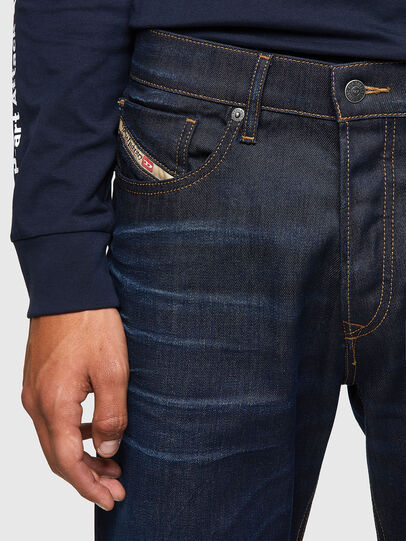 Diesel - D-Fining Tapered Jeans 09A45, Dark Blue - Jeans - Image 4