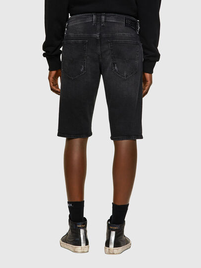 Diesel - THOSHORT, Negro/Gris oscuro - Shorts - Image 2