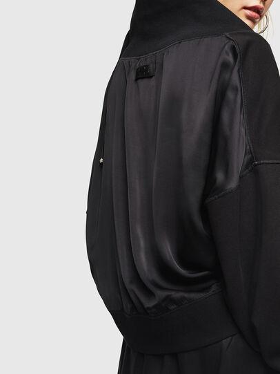 Diesel - F-KESA, Black - Sweatshirts - Image 4