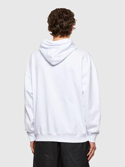 Diesel - S-UMMER-E1, White - Sweatshirts - Image 2
