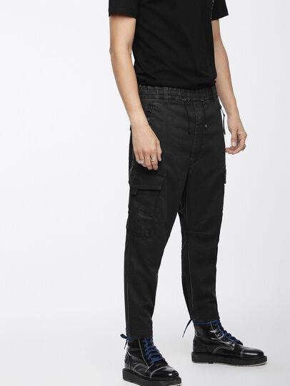 Diesel - Phanto JoggJeans 0EATZ, Black/Dark Grey - Jeans - Image 1