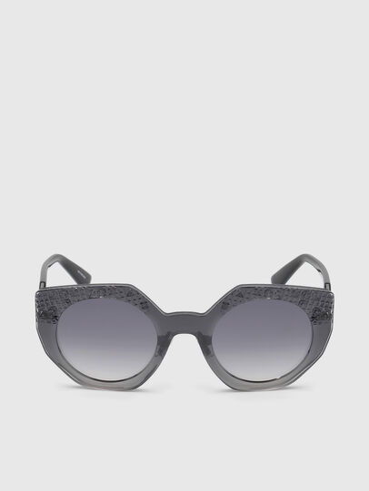 Diesel - DL0258, Grey - Sunglasses - Image 1
