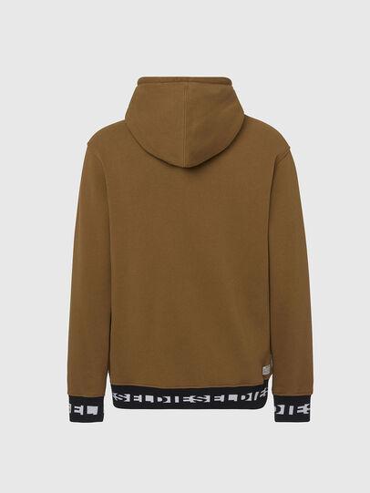 Diesel - UMLT-BRANDON, Light Brown - Sweatshirts - Image 2
