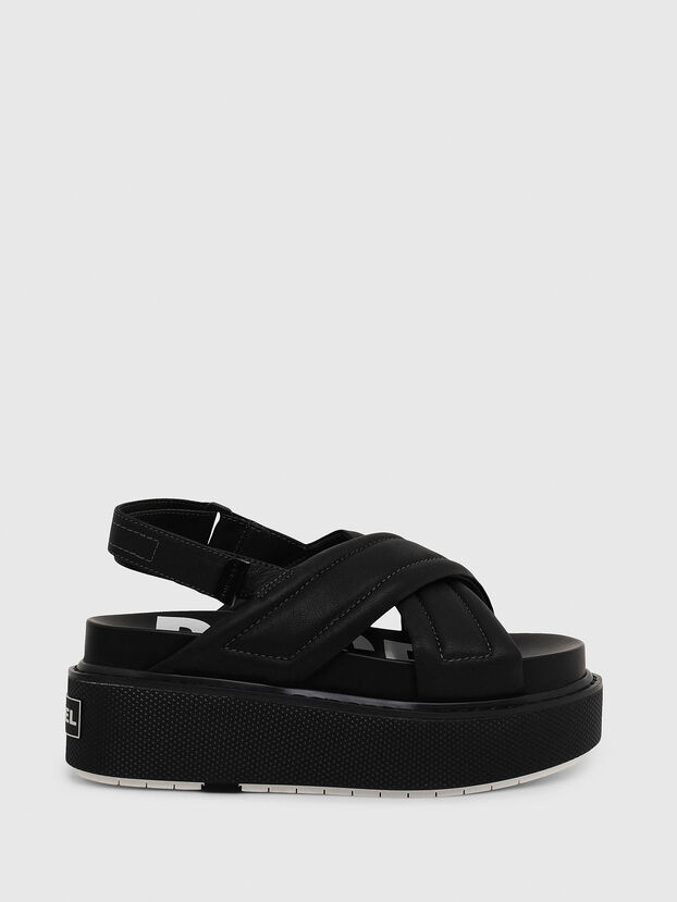 SA-SCIROCCO XR, Black - Sandals